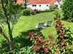 Bikerfreundliche Pension Buttgereit - Buchstein-Garten in mediterraner Athmosphäre